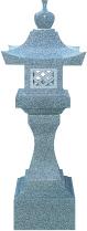 角墓前灯籠